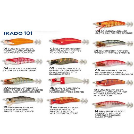 Savage Gear 3D Hybrid Shrimp la EGI SQUID JIG 75 mm 12 g